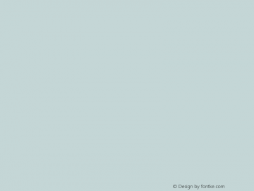 文鼎中特广告体 Regular CoolType Version 1.0 Font Sample