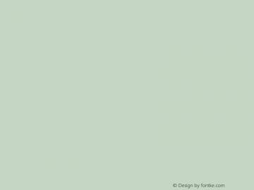 文鼎行楷碑体 Regular CoolType Version 1.0 Font Sample
