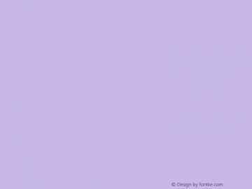 文鼎石头体 Regular CoolType Version 1.0 Font Sample
