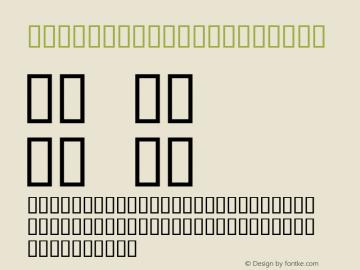 ThemeCorners Regular Macromedia Fontographer 4.1 2004-06-16 Font Sample
