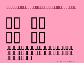 Ipa-samd Uclphon1 SILDoulosL Bold Altsys Fontographer 4.0.3 1/13/94 Compiled bTTFON - SIL Encore Font Compiler 05/09/95 12:20:45 Font Sample
