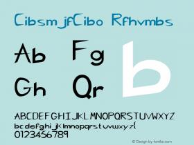 CharlieChan Regular Altsys Metamorphosis:9-07-92 Font Sample