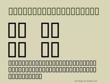 NigelSadeSH Regular SoHo 1.0 9/14/93 Font Sample