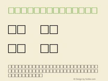 WEIGHT Regular Altsys Metamorphosis:1/2/98 Font Sample