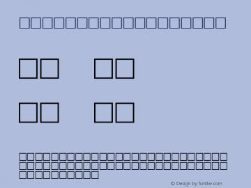 ZIPTHROUGH Regular Altsys Metamorphosis:1/26/97 Font Sample