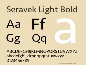Seravek Light Bold 8.0d5e1图片样张