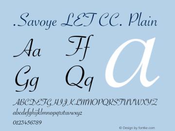 .Savoye LET CC. Plain 8.0d1e1图片样张