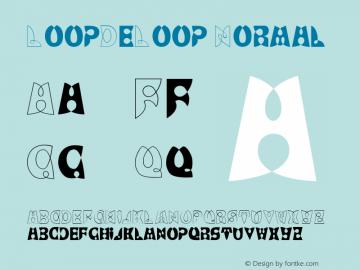 LoopDeLoop Normal Dienstag, 27-Sep-94  17:36:17 Font Sample