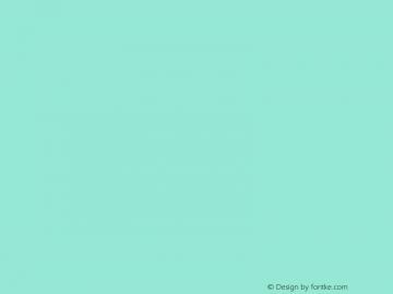 文鼎香肠体 Regular CoolType Version 1.0 Font Sample