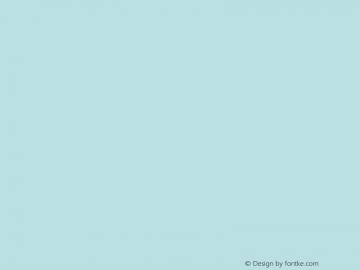 文鼎胡子体 Regular CoolType Version 1.0 Font Sample