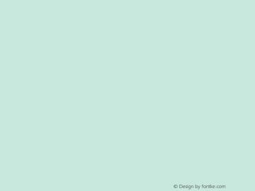文鼎弹簧体 Regular CoolType Version 1.0 Font Sample