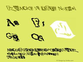 FZ WACKY 51 LEFTY Normal 1.0 Sun Jan 30 17:16:03 1994 Font Sample