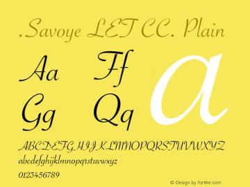 .Savoye LET CC. Plain 9.0d1e1图片样张