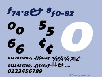 TheMix Italic Version 1.0 Font Sample