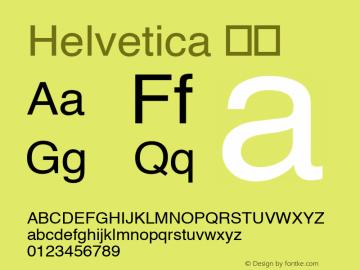 Helvetica 斜体 8.0d6e1 Font Sample