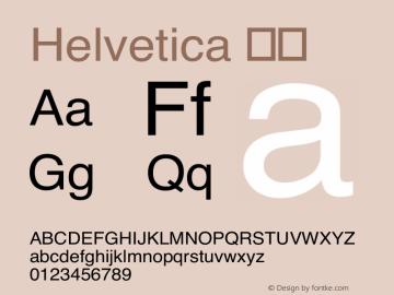 Helvetica 斜体 8.0d9e1 Font Sample