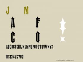 Judas Medium Version 001.001 Font Sample
