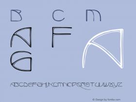 BenjaminCaps Medium Version 001.001 Font Sample