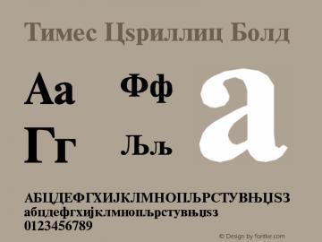 Times Cyrillic Font,Times New Roman* MONOTYPE CY Bold Font