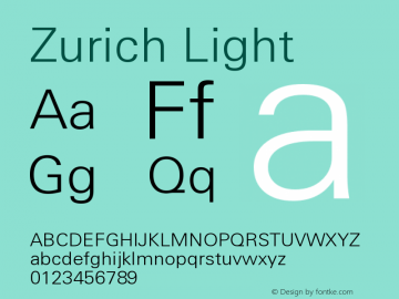 Zurich Light Version 003.001图片样张