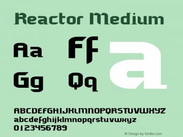 Reactor Medium Version 001.000图片样张