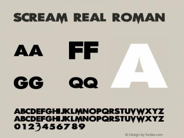 Scream Real Roman Version 001.001图片样张