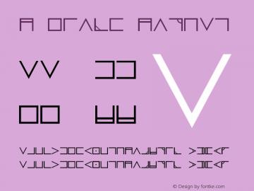 Nugsoth Normal Version 001.002 Font Sample