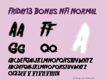 Friday13 Bonus NFI Normal Version 001.001图片样张