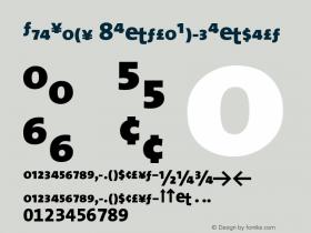 TheSans 8ExtraBoldExpert Version 1.0 Font Sample