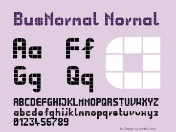 BusNormal Normal Version 001.000图片样张