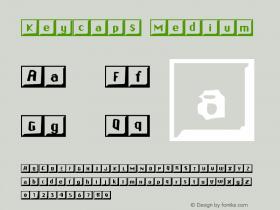 Keycaps Medium Version 001.000图片样张
