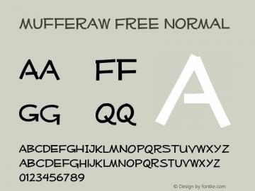 Mufferaw Free normal Version 001.001 Font Sample