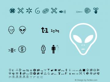 Nucleus Two Version 001.000 Font Sample