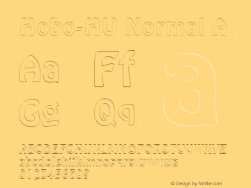 Hobo-HU Normal A 1.000 Font Sample