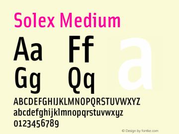 solex font