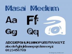 Masai Medium Version 001.000图片样张