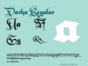 Darka Regular 001.000图片样张