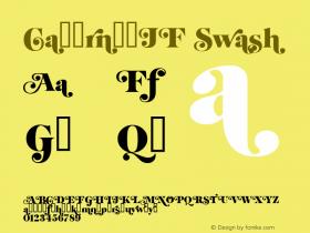 CabernetJF Swash Macromedia Fontographer 4.1.4 6/12/03图片样张