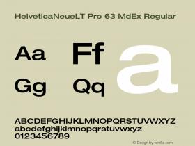 HelveticaNeueLT Pro 63 MdEx Regular Version 1.500;PS 001.005;hotconv 1.0.38图片样张