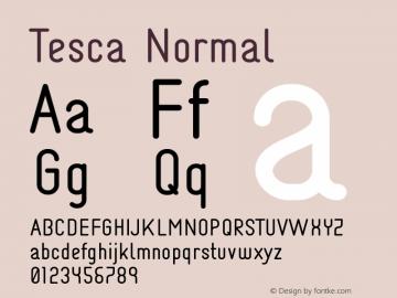 Tesca Normal Unknown图片样张