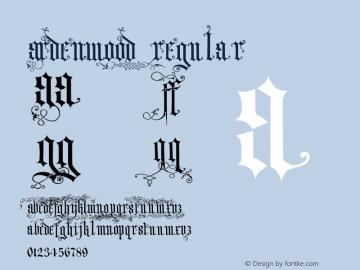 Ardenwood Regular 001.001 Font Sample