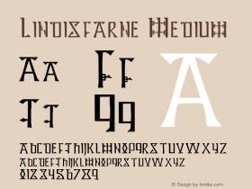 Lindisfarne Medium 001.000 Font Sample