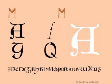 Motley Medium 001.000 Font Sample
