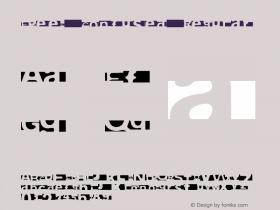 FPeep Confused Regular 001.000 Font Sample
