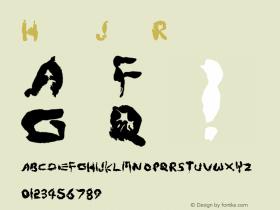 Hand Job Regular 001.000 Font Sample