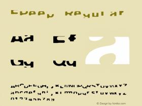 FPeep Regular 001.000 Font Sample