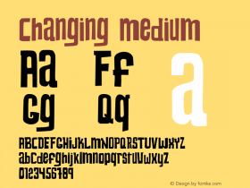 Changing Medium Version 001.000图片样张