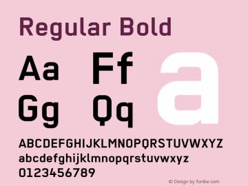 Regular Bold 001.012图片样张