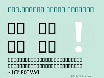 Far.Aramco Light Regular 1.5 - 1390 Font Sample