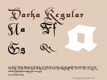 Darka Regular XPDF图片样张